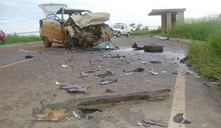 Homem morre em acidente próximo a São Gotardo