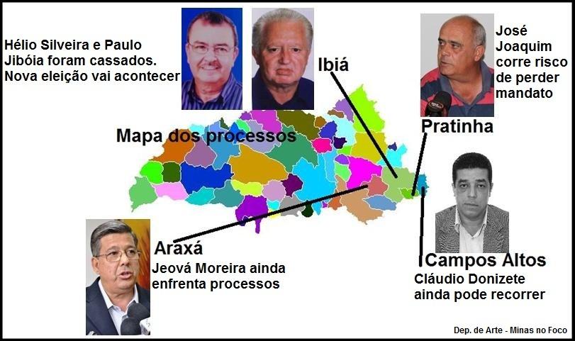 Prefeito de Campos Altos é cassado pela Justiça Eleitoral