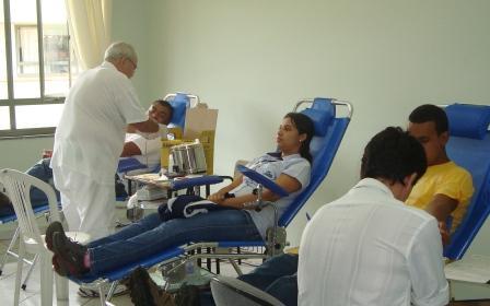 Hemominas realiza coleta de sangue em Bambuí