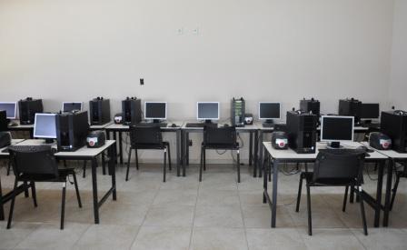 Telecentro do IFMG de Bambuí do possibilita o acesso da comunidade ao meio digital