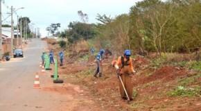 Diversos locais de Patos de Minas passam por intensa limpeza