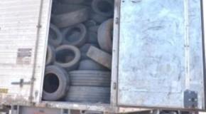 Ecoponto de Patos de Minas tem mais uma retirada de pneus