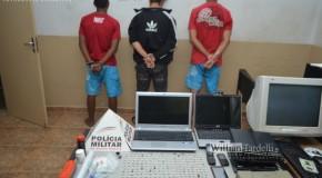 Grupo detido por tráfico de drogas tinha mais de 200 pedras de crack em posse