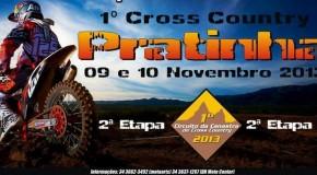 1° Cross Country em Pratinha acontece dias 9 e 10 de novembro
