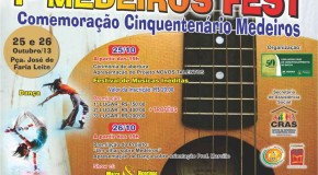 Medeiros realiza concurso de música no final do mês e inscrições estão abertas