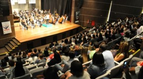 Orquestra Viva de Araxá se apresenta na Concha Acústica, em Uberaba
