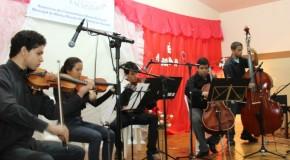 Escola Lia Salgado recebeu o projeto A Música Vai Onde o Povo Está