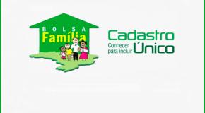Famílias inscritas no Cadastro Único para programas sociais devem realizar revisão cadastral