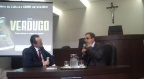 Renato Zupo lança Verdugo, em Araxá, para uma plateia lotada de estudantes
