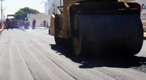 Prefeitura de Campos Altos continua com pavimentação asfáltica por toda cidade