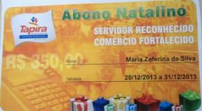 Confirmado Abono Natalino para funcionários da prefeitura de Tapira