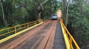 Prefeitura de Patos de Minas entrega ponte do Aragão à população rural