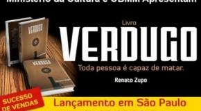 Renato Zupo lança Verdugo em São Paulo e renda será doada a ONG Cão Sem Don