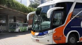 Campanha alerta sobre a importância do uso de cinto de segurança em ônibus intermunicipais