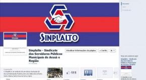 Sinplalto cria página no Facebook para otimizar a comunicação com o servidor