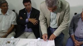 Parceria possibilita reforma e recuperação da Estação de Esgoto do Barreiro