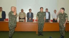 20ª Delegacia do Serviço Militar em Patos de Minas tem troca de comando