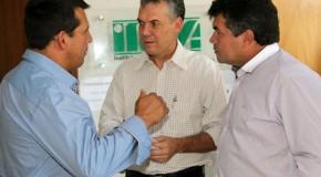 Secretário de Agricultura de Minas Gerais visita Tapira