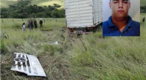 Rapaz de 34 anos morre em acidente na MG-428, no município de Sacramento