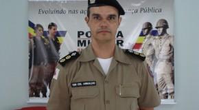 37º Batalhão da Polícia Militar tem novo comandante