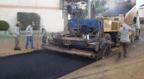 Iniciada a pavimentação asfáltica da avenida Ivan Borges Porto, em Patos