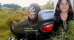 Moça de 21 anos morre em acidente nessa madrugada, na Araxá/Patos