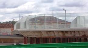Corpo de Bombeiros realiza vistoria e cobra laudo técnico com analise estrutural em obra do Teatro Municipal