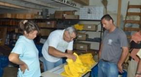 Secretaria Municipal de Infraestrutura de Patos entrega uniformes aos funcionários