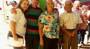 Melhor Idade de Tapira participa de encontro regional