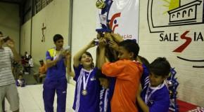 Encerrada a VI Copa Rio Branco de Futsal Infantil