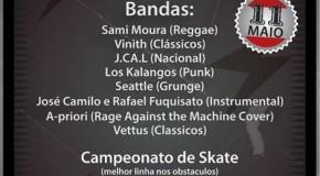 Bandas de rock se reúnem em evento temático em Campos Altos