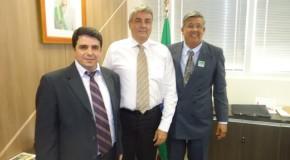 Prefeito de Araxá se reúne com secretário de Aviação Civil da Presidência da República