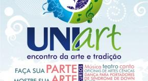 Uniart realiza ensaio aberto no próximo sábado, no Calçadão de Araxá