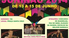 Vem aí o Juninão 2014, realizado na cidade de Ibiá