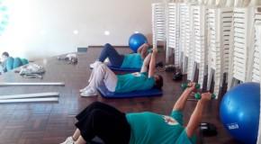 Nasf Pratinha alerta para a musculação para pessoas idosas