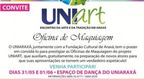 Uniart oferece oficina gratuita de maquiagem