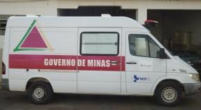 Prefeitura de Serra do Salitre recupera ambulância que estava abandonada na oficina municipal