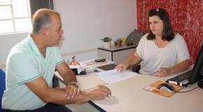 Vereador José Maria Lemos Junior visita Sine de Araxá e recebe demandas