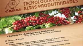"""Capal realiza Dia de Campo """"Tecnologias para Alta Produtividade"""""""