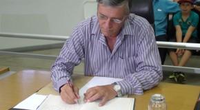João Bosco Borges toma posse como vereador na Câmara de Araxá