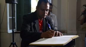 Novos secretário de esportes e presidente da FCCB, tomam posse na Prefeitura de Araxá