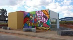 Academia da Saúde, em Campos Altos, em fase final de construção