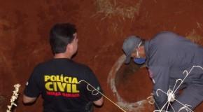 Cadáver é encontrado dentro de manilha, em condomínio no Setor Oeste de Araxá