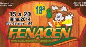 Festa Nacional da Cenoura 2014 começa nessa terça feira