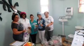 Alunos da FCCB fazem doação para Hospital do Câncer de Uberaba