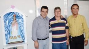 Ponto de apoio em Patos de Minas começa a receber os romeiros