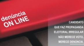 Denúncia On Line, do TRE Minas, recebeu quase 500 denúncias até agora
