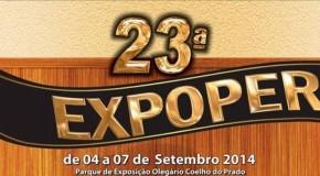 Começam nesse sábado, os eventos da Exposição Agropecuária de Perdizes