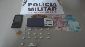 PM prende acusado de tráfico no entorno do Terminal Rodoviário de Araxá
