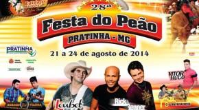 Pratinha se prepara para a realização da Festa do Peão 2014
